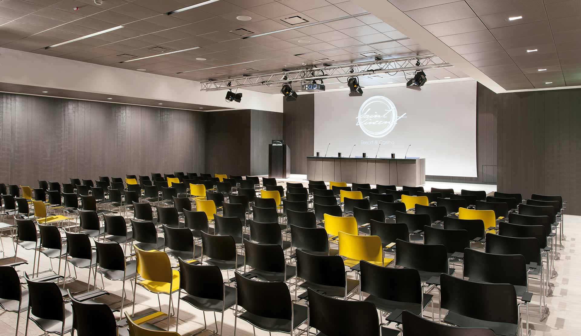 sala congressi Monte Bianco