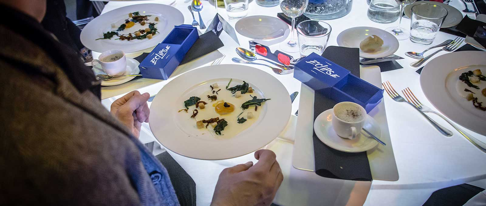 Eclipse dinner gala sow al Saint-Vincent Resort & Casino